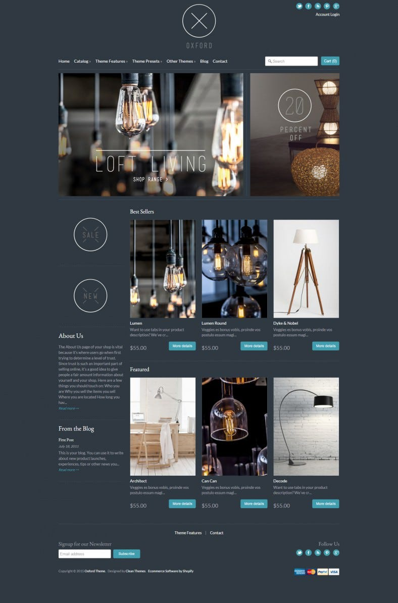 clean elegant expression website template 788x1194