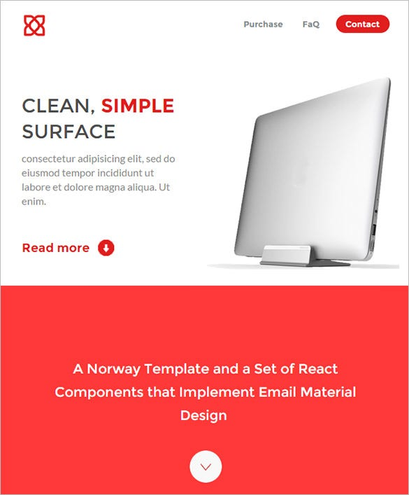 Clean Outlook Email Template