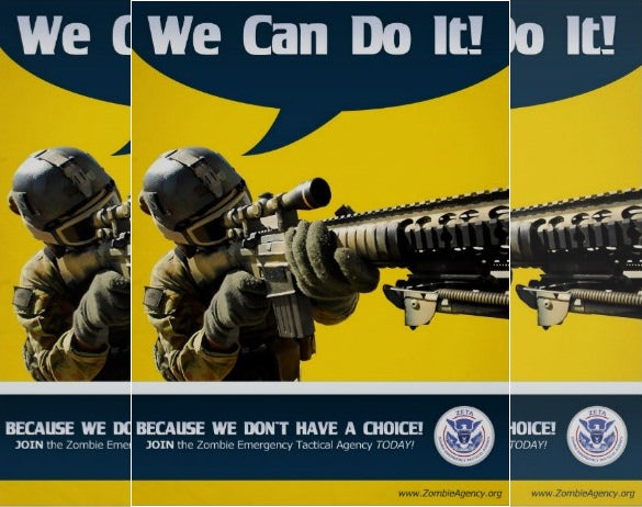 clean we can do it poster download