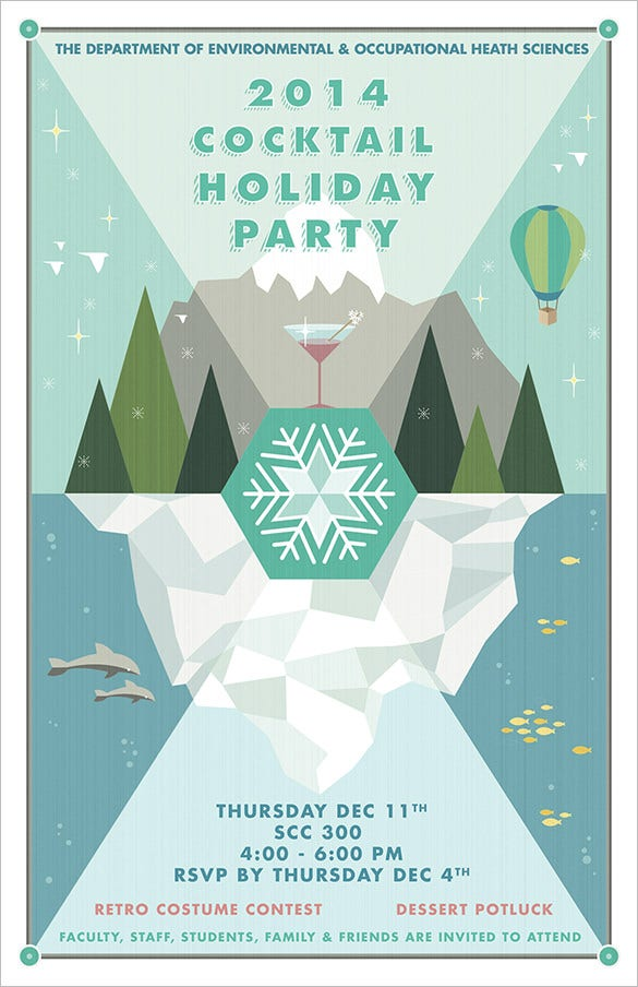 20+ Holiday Party Flyer Templates & Psd Designs | Free & Premium