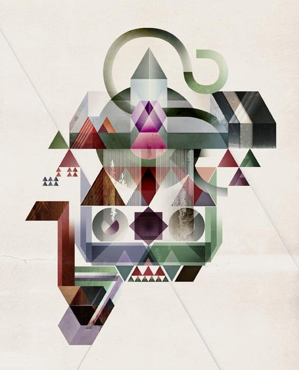 coherence geometric illustration by kasper pyndt