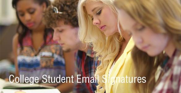 collegestudentemailsignatures