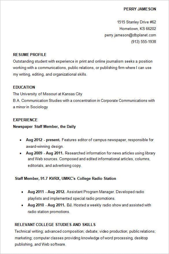 Teaching Assistant Resume Template 13 High School Graduate Resume