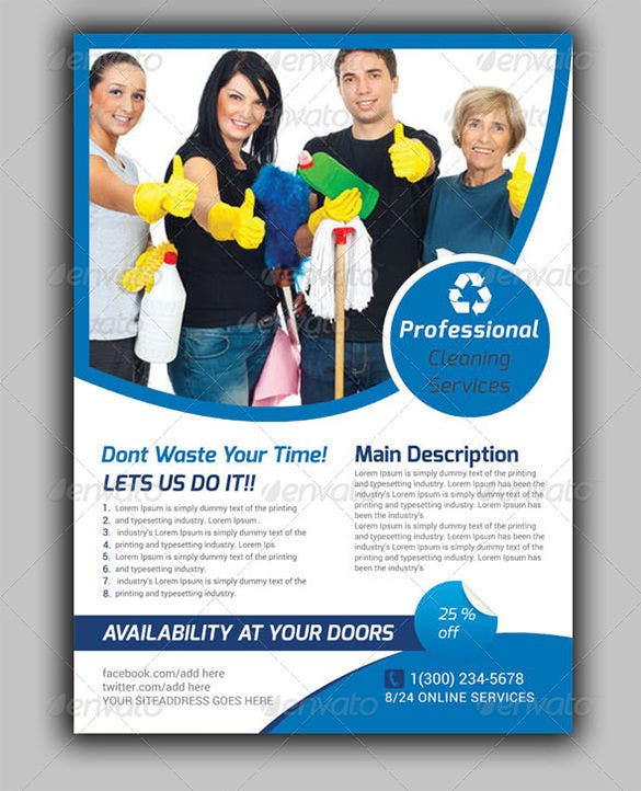 House Cleaning Flyer Ideas Dolapgnetband