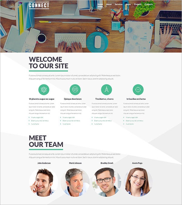 communications service provider joomla template