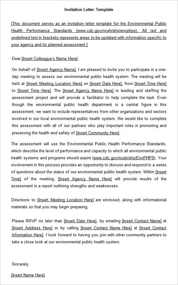 Invitation letter to conference sample romeondinez invitation letter to conference sample stopboris