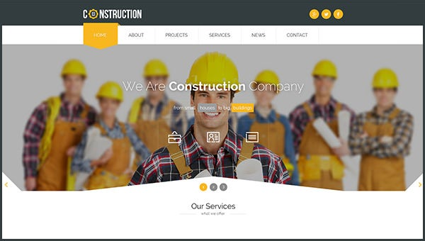 constructionhtml5templates