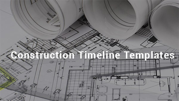 construction timeline templates