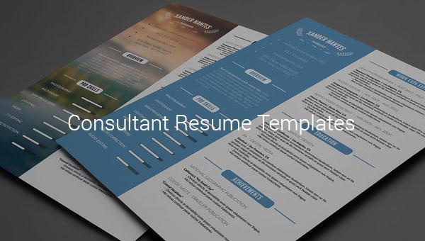 consultantresumetemplate