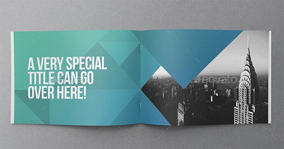 Cool Modern Brochure Indesign Template