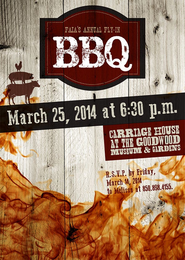 52  bbq invitation templates