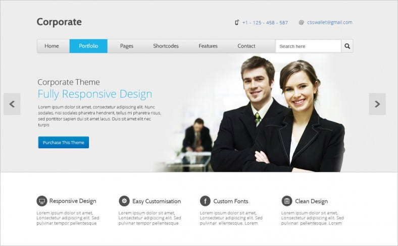 corporate multipurpose psd template 788x488