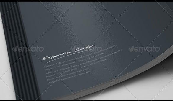 corporate professional brochure building future