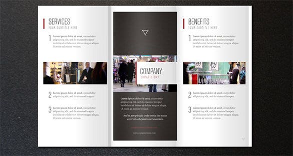 37 corporate brochure templates psd designs free for Company brochure template free