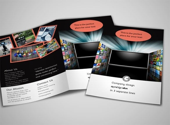 12+ amazing video brochure templates | free & premium templates, Powerpoint templates
