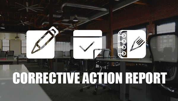 5  corrective action report templates