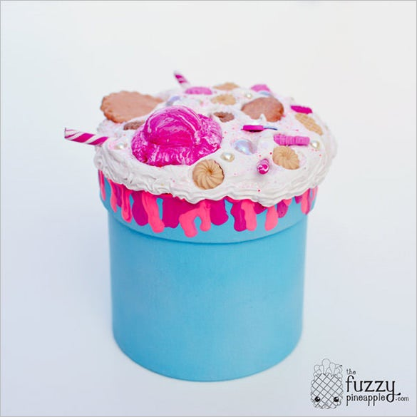 cotton candy jewelry box