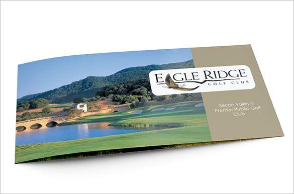 Useful Course Brochure Templates Free Premium Templates - Golf brochure template