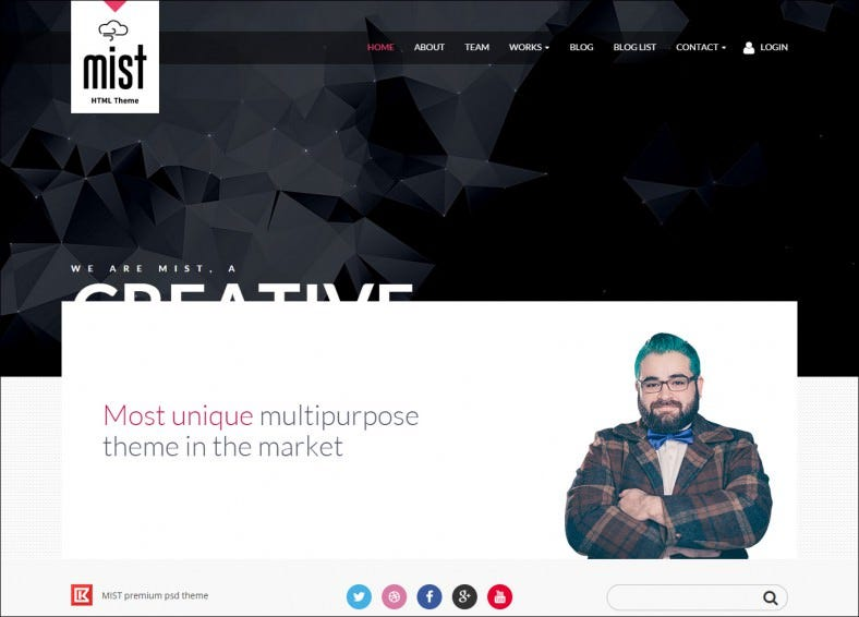 creative agency fully responsive html5 template 788x566