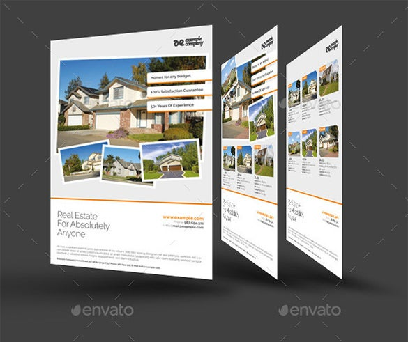 Sample House Sale Flyer Template - House for sale brochure templates free
