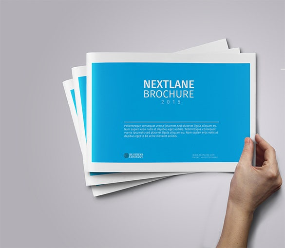 Modern Brochure Design Templates PSD InDesign Illustration - Modern brochure template