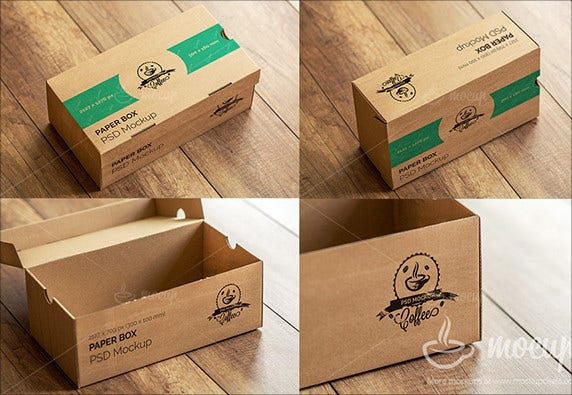 creative paper money box template