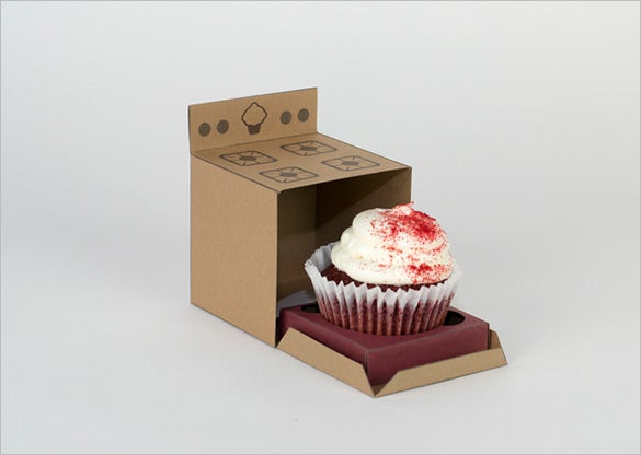 cupcake boxes template