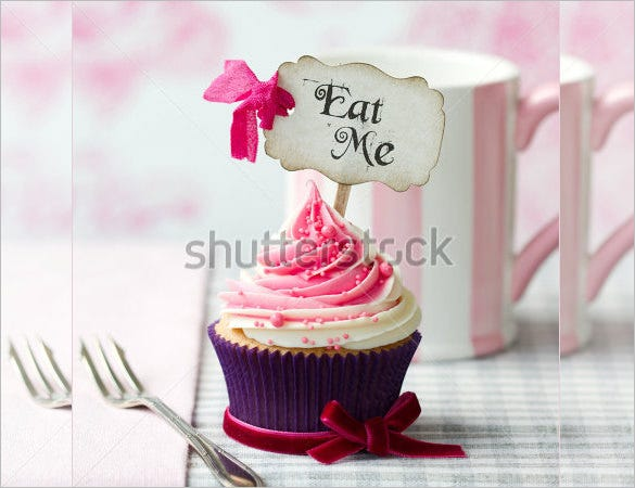 cupcake premium template download