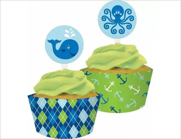 cupcake wrapper cricut 4