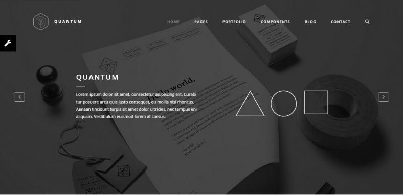 custom framework responsive business html5 template 788x382