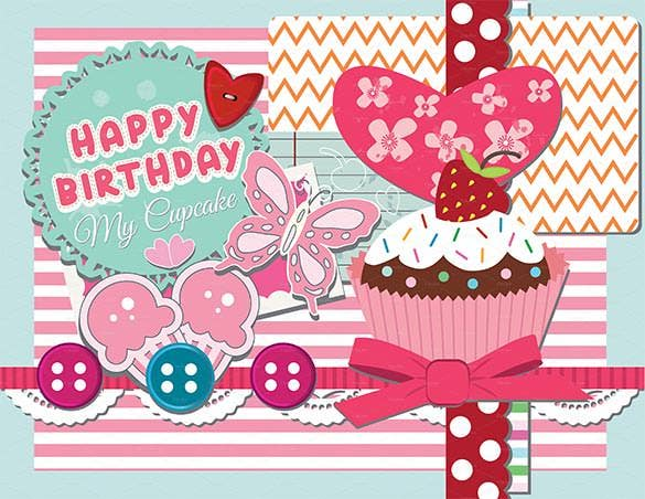 Birthday Card Template 35 PSD Illustrator EPS Format Download – Happy Birthday Cards Templates