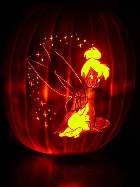 diy tinker bell template design