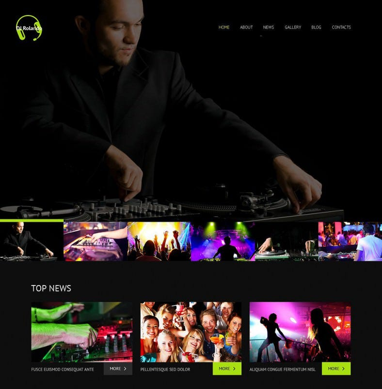 dj responsive wordpress theme 2 788x801