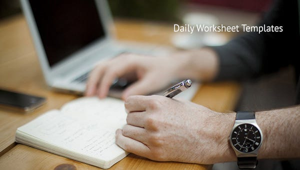 dailyworksheettemplates