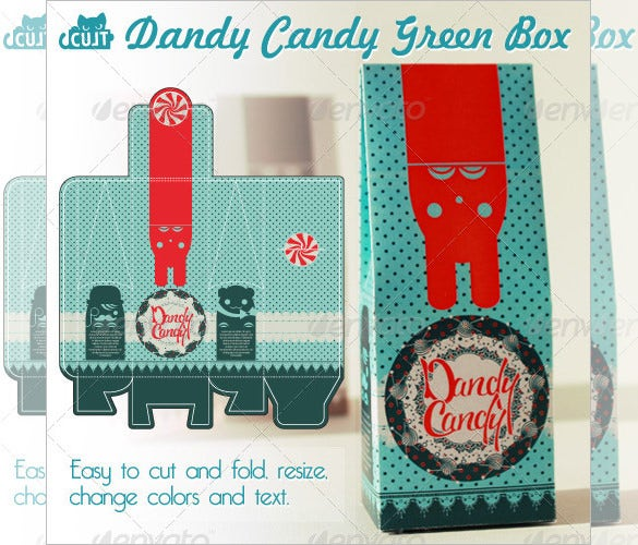 dandy candy box template 5