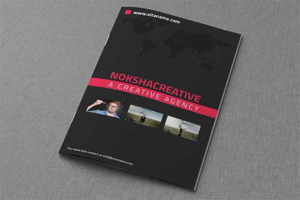 dark corporate bi fold brochure 10
