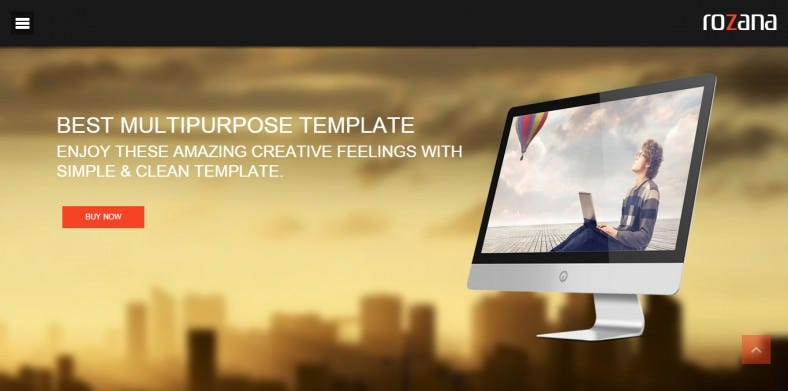 Dark & Light Parallax Multipurpose Joomla Template