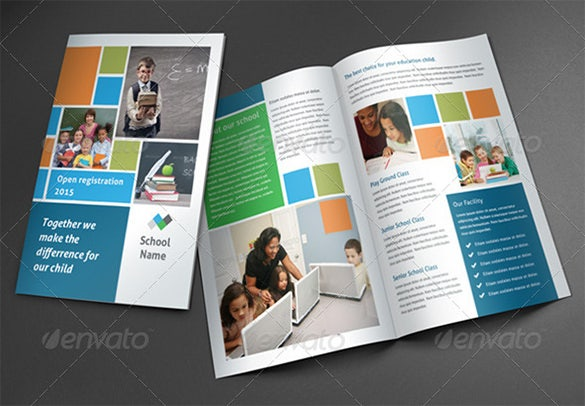 School Brochure PSD Templates Designs Free Premium Templates - School brochures templates