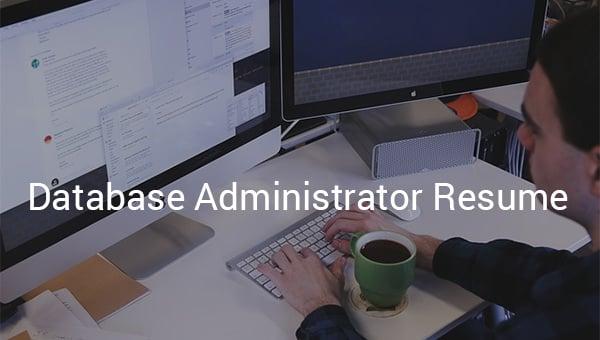 databaseadministratorresume