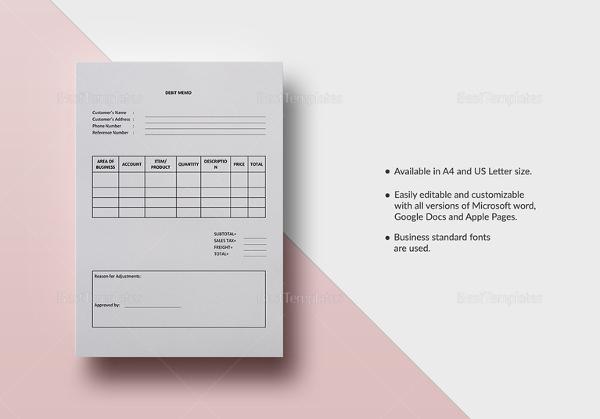 debit-memo-template-2