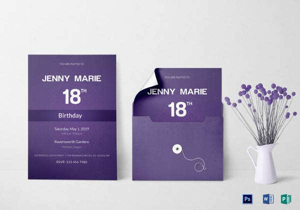 27 debut invitation templates psd ai vector eps free debut event invitation card template stopboris Image collections