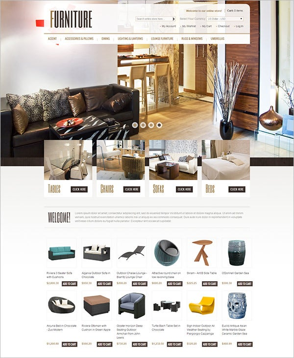 decoration interior design magento theme
