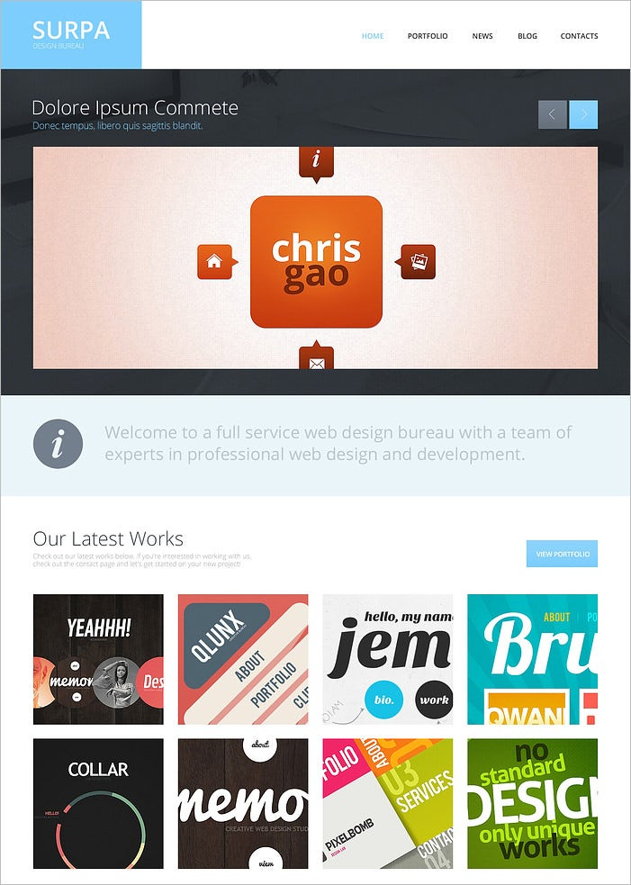 design studio responsive wordpress theme 2
