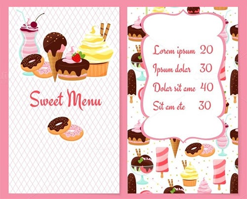 Catering Menu Template 30 Free PSD EPS Documents Download – Menu Template