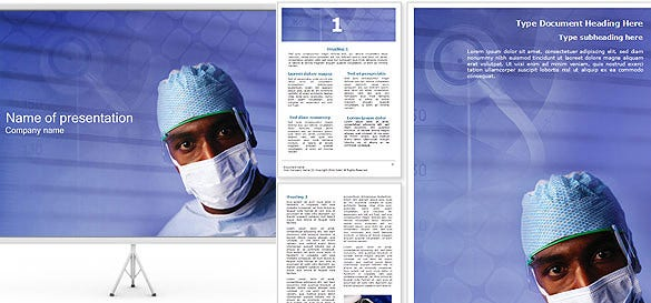 doctor word template publisher flyer