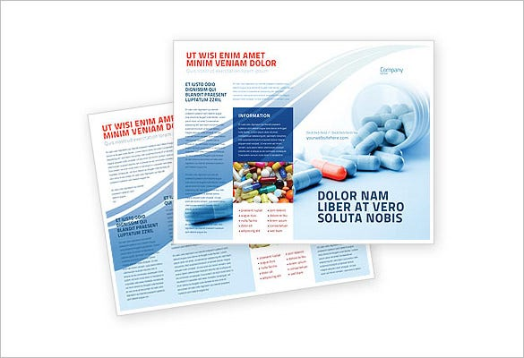 11+ Drug Brochure Templates – Psd, Illustrator Files Download
