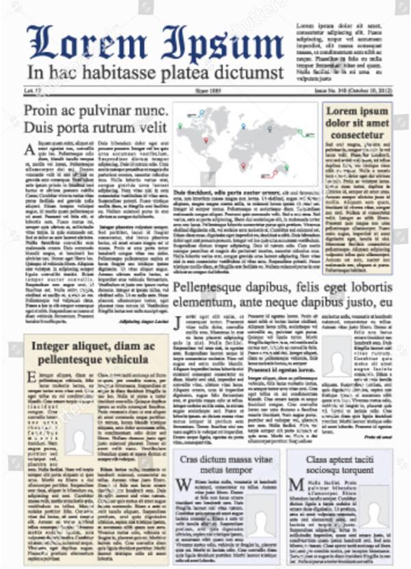 duplicate newspaper vector design download