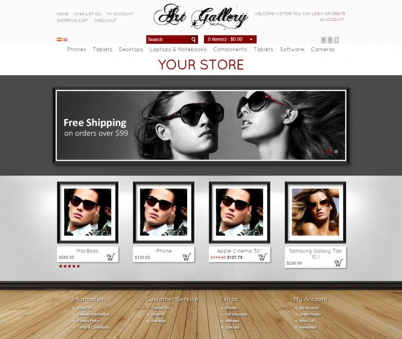 easy customisation mobile responsive theme 788x666
