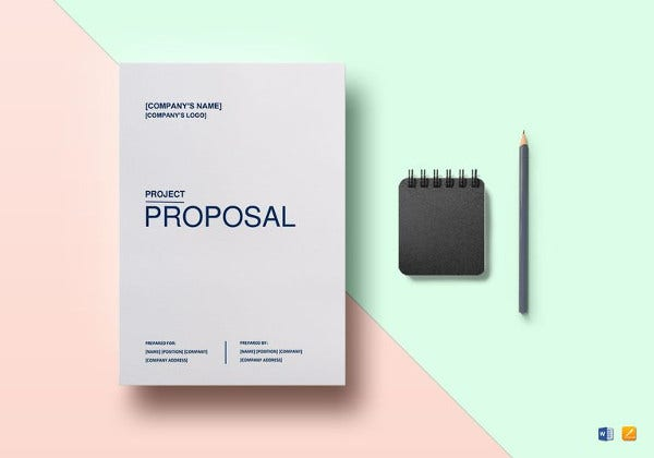 easy to print project proposal template