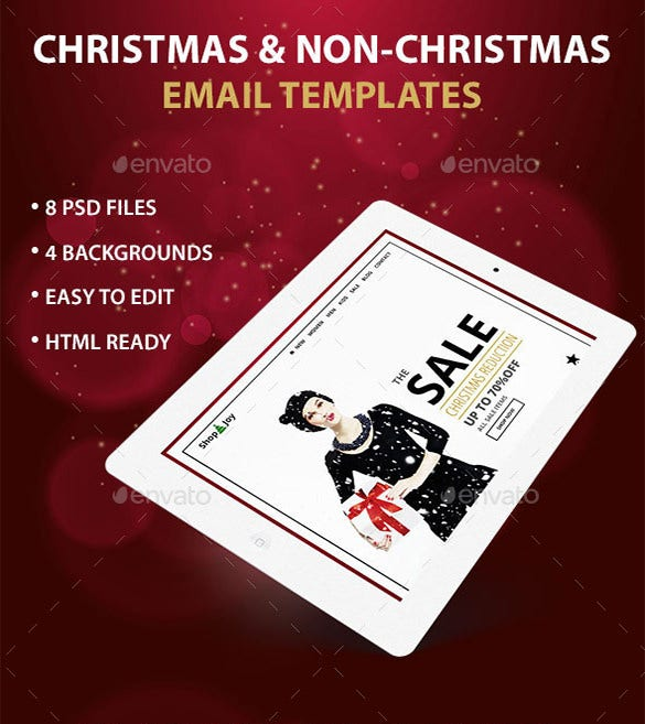 ecommerce psd email template